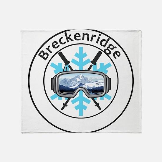 Breckenridge Ski Resort - Breckenr Throw Blanket