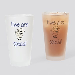 Ewe are special Drinking Glass