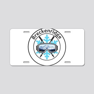 Breckenridge Ski Resort - Aluminum License Plate