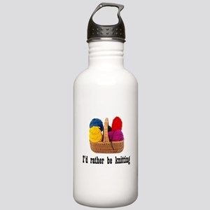 I'd rather be knitting Stainless Water Bottle 1.0L