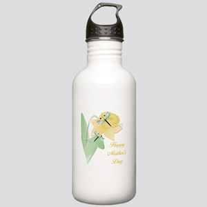 Happy Mother's Day (daffodil) Stainless Water Bott