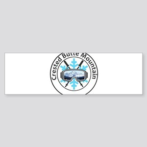 Crested Butte Mountain Resort - M Bumper Sticker