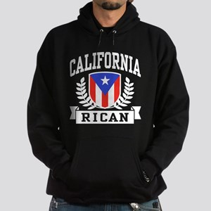 California Rican Hoodie (dark)