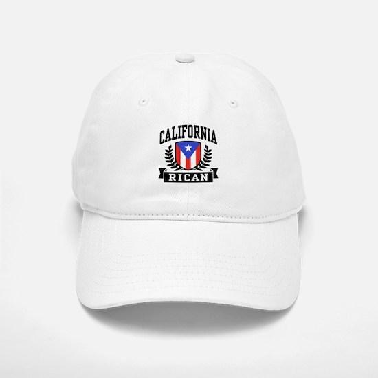 California Rican Baseball Baseball Cap