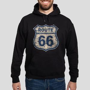 Route 66 Bluetandist Hoodie (dark)