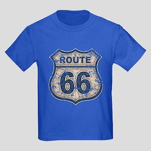 Route 66 Bluetandist Kids Dark T-Shirt