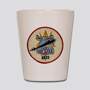 USS BARB Shot Glass