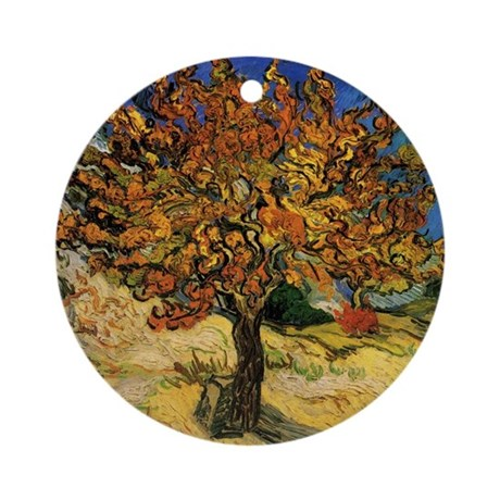 Vincent Van Gogh Ornament (Round)