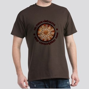 Vintage Stop Conscription Dark T-Shirt