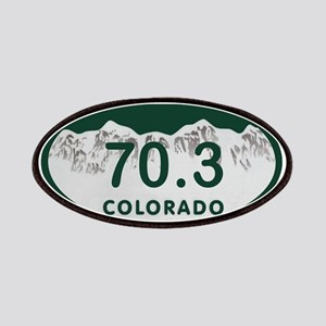 70.3 Colo License Plate Patches