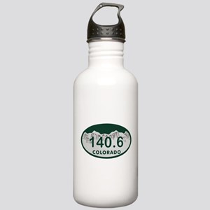 140.6 Colo License Plate Stainless Water Bottle 1.