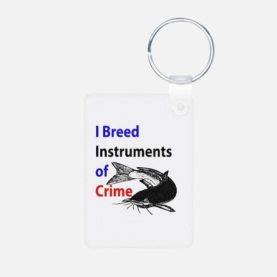 Breed Catfish Criminal Keychains