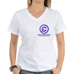 PD Project Women's V-Neck T-Shirt
