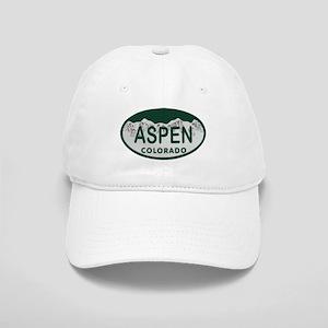 18d8b63cc93 Aspen Colo License Plate Cap