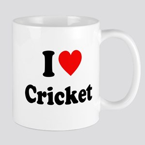 I Heart Cricket Mug