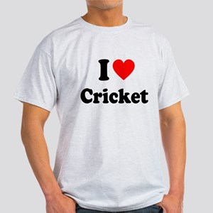 I Heart Cricket Light T-Shirt