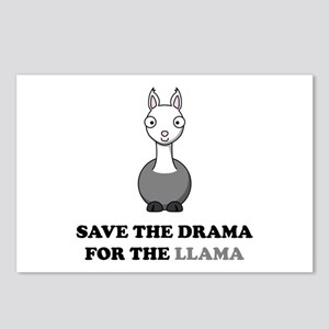 save the drama for the llama Postcards (Package of