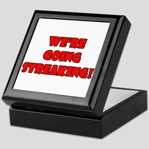 We're Going Streaking! Keepsake Box