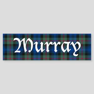 Tartan - Murray Sticker (Bumper)