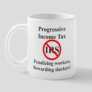 Progressive Tax Mug