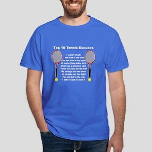 Tennis Excuses Dark T-Shirt