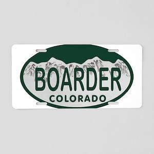 Boarder Colo License Plate Aluminum License Plate