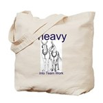 Draft Mule Teams Tote Bag