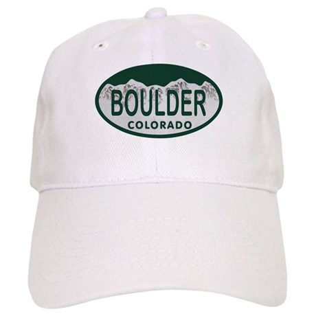 Boulder Colo License Plate Cap