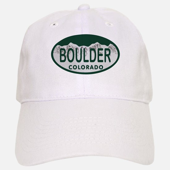 Boulder Colo License Plate Baseball Baseball Cap