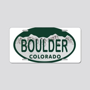 Boulder Colo License Plate Aluminum License Plate