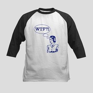 WTF Vintage Kids Baseball Jersey