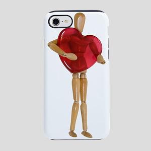BigHeart071809 iPhone 7 Tough Case