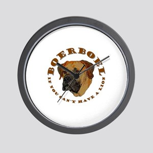 If you can have a lion... Wall Clock