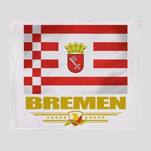 Bremen Pride Throw Blanket