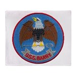 USS BARRY Throw Blanket