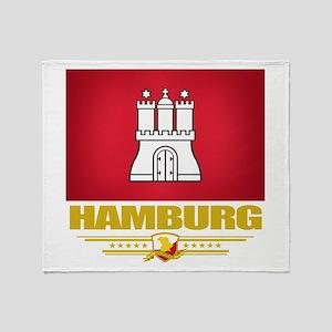 Hamburg Pride Throw Blanket
