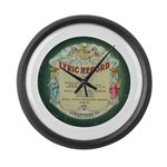 Lyric Record Wall Clock