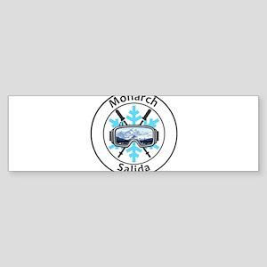 Monarch Ski Area - Salida - Color Bumper Sticker