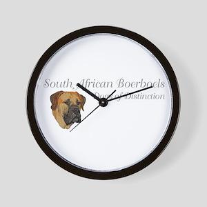 Boerboel Dog of Distinction Wall Clock