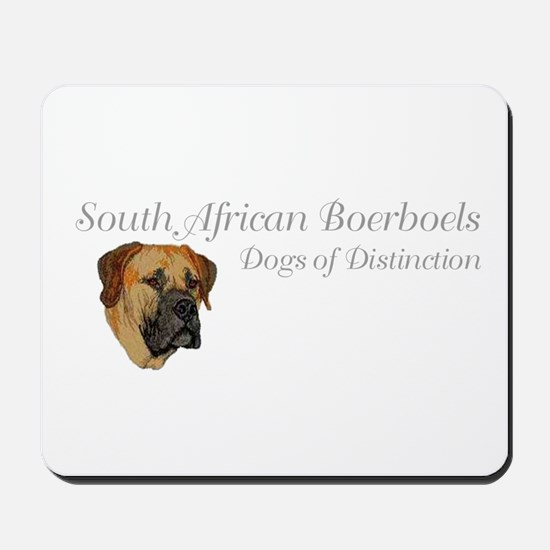 Boerboel Dog of Distinction Mousepad