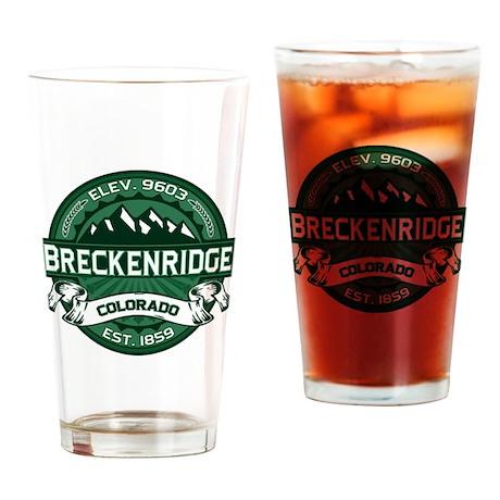Breckenridge Forest Drinking Glass