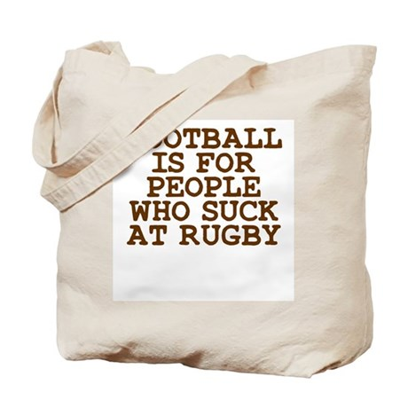 Football Sucks Tote Bag