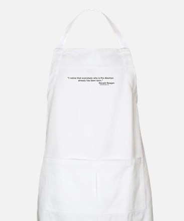 Reagan: Everybody who is Pro-Abortion BBQ Apron