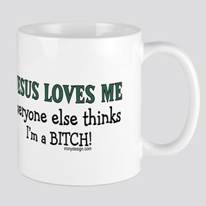 JESUS LOVES ME... Mug