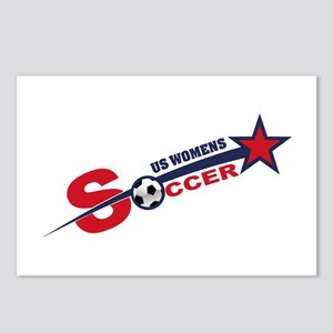 US Women's Soccer Postcards (Package of 8)