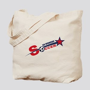 US Women's Soccer Tote Bag
