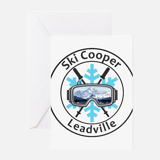 Ski Cooper - Leadville - Colorado Greeting Cards