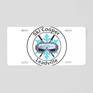 Ski Cooper - Leadville - Aluminum License Plate