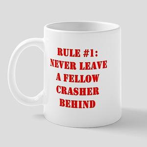 Crashing Rule #1 Mug