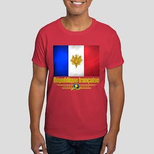 French Flag/Emblem Dark T-Shirt